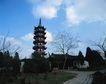 地方名胜0059,地方名胜,古代风景,宝塔 尖顶 枯枝