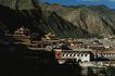 地方名胜0066,地方名胜,古代风景,山脚 山峰 人家