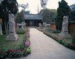 地方名胜0073,地方名胜,古代风景,路旁 雕塑 石雕