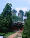 地方名胜0082,地方名胜,古代风景,观光 绿色 名胜古迹