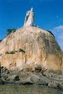 地方名胜0088,地方名胜,古代风景,石料 石山 古代