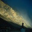 古代艺术0025,古代艺术,古代风景,山峰 山脚 景色