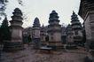 古代艺术0065,古代艺术,古代风景,佛塔 建筑 遗址
