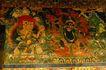 古代艺术0073,古代艺术,古代风景,壁画 天神 彩绘