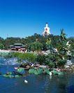 旅游景点0026,旅游景点,古代风景,绿色 公园 植物