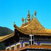 旅游景点0061,旅游景点,古代风景,蓝天 屋顶 琉璃瓦