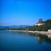 旅游景点0069,旅游景点,古代风景,佛塔 湖泊 倒影