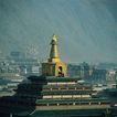 旅游景点0074,旅游景点,古代风景,金塔 西藏 旅游