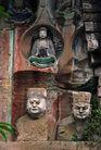 佛像雕刻0251,佛像雕刻,古代风景,