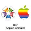电子计算机0026,电子计算机,世界标识,苹果 彩绘 897