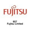 电子制品0006,电子制品,世界标识,Fjuitsu 807 红色字体