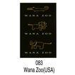 动物园、水族馆0030,动物园、水族馆,世界标识,鄂鱼 老虎 大象