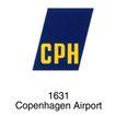 飞机场0007,飞机场,世界标识,CPH 1631 Copenhagen