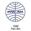 航空社0022,航空社,世界标识,Pan Am 1592 地球