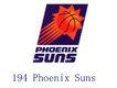 蓝球,野球0016,蓝球,野球,世界标识,194 Suns Phoenix