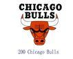蓝球,野球0022,蓝球,野球,世界标识,牛头 Bulls 200