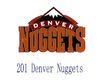蓝球,野球0023,蓝球,野球,世界标识, 201 Denver Nuggets