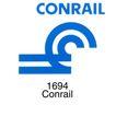 铁道、高速公路0013,铁道、高速公路,世界标识,Conrail 1694 铁道