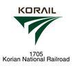 铁道、高速公路0024,铁道、高速公路,世界标识,Korail National 1705