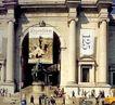 美国自然历史博物馆0002,美国自然历史博物馆,世界CI大全,Expedition 大门 游人 雕塑 建筑 欧式建筑 参观 游览