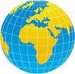 通讯设备0299,通讯设备,科技,全球标致  地球 有地图的全球