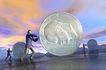 创意无限0068,创意无限,科技,商人 硬币 创意