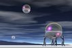 创意无限0073,创意无限,科技,透明 汽泡 悬浮