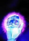 数码之手0016,数码之手,科技,手掌 发散 紫光