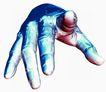 数码之手0070,数码之手,科技,指间 方向 关节