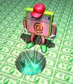 网路世界0025,网路世界,科技,屏幕 货币 帽子