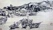 中国现代山水0195,中国现代山水,中国传统,