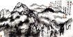 中国现代山水0218,中国现代山水,中国传统,