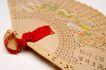 中国风0042,中国风,中国传统,扇子 红色流苏 精品扇子