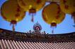 中国风0068,中国风,中国传统,房屋 天空 灯笼