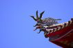 中国风0072,中国风,中国传统,屋脊 龙头 翘起