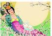 中秋0003,中秋,中国传统,常娥 仙子 玉兔