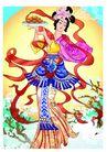 中秋0008,中秋,中国传统,身后 黄澄澄 月亮