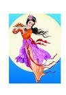 中秋0018,中秋,中国传统,飘浮 游走 天堂