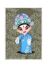 京剧脸谱0020,京剧脸谱,中国传统,小生 秀才 形象