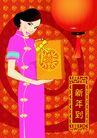 元旦0003,元旦,中国传统,新年 吊灯 送礼
