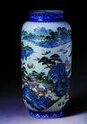古典瓷器0125,古典瓷器,中国传统,高度 圆形 河流 小镇 帆船