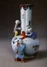 古典瓷器0129,古典瓷器,中国传统,白瓷 花饰 藏品 陈列室 玩童