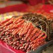 新年0022,新年,中国传统,香肠 年货 肉食