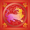 欢快节日0055,欢快节日,中国传统,虎年 猛虎 精致花式