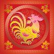 欢快节日0056,欢快节日,中国传统,鸡年到了 尖爪子 尖嘴