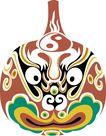 马勺脸谱0002,马勺脸谱,中国传统,