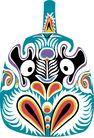 马勺脸谱0003,马勺脸谱,中国传统,