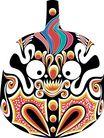 马勺脸谱0004,马勺脸谱,中国传统,
