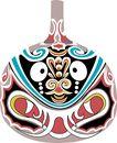 马勺脸谱0006,马勺脸谱,中国传统,