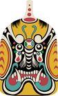 马勺脸谱0007,马勺脸谱,中国传统,